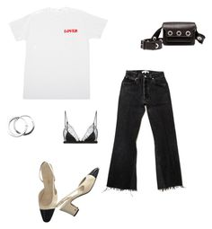 """""""Untitled #52"""" by brontelindley ❤ liked on Polyvore featuring Chanel, Marni and Maison Close"""