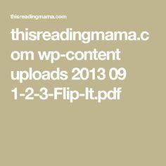 thisreadingmama.com wp-content uploads 2013 09 1-2-3-Flip-It.pdf