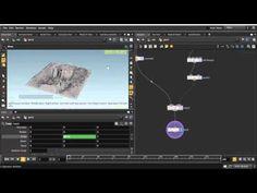 Houdini Tutorial - Edge displacement shader VOPSOP - YouTube