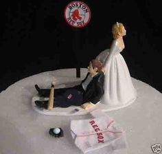 Red Sox Cake Topper :)