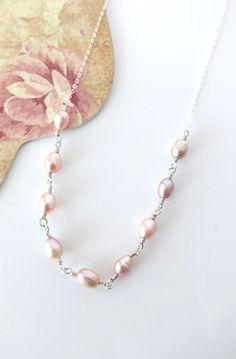 Sterling Silver Freshwater Pearl Necklace forever