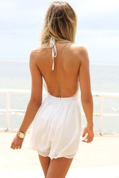 Backless rompers.