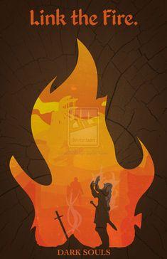 Dark Souls Minimalist Poster