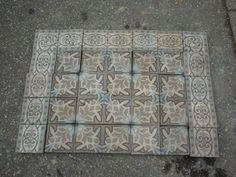 cement tiles, 14,2 x 14,2 cm, Germany