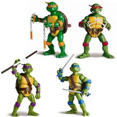 TOY SLAYER - Teenage Mutant Ninja Turtles Retro Figures Series 1, $64.99 (http://www.toyslayer.com/teenage-mutant-ninja-turtles-retro-figures-series-1/)
