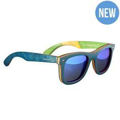 0-Earth Wood Sunglasses Malibu -ESG012BM $70.00 on Ozsale.com.au