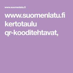 www.suomenlatu.fi kertotaulu qr-kooditehtavat,