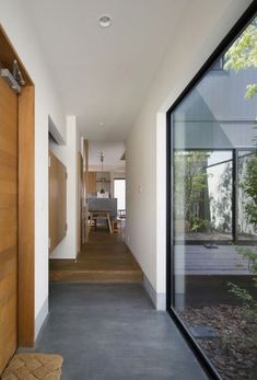 Gate Design, House Design, Home Interior Design, Interior Architecture, Japanese Modern House, Narrow House, Forest House, House Windows, Large Homes