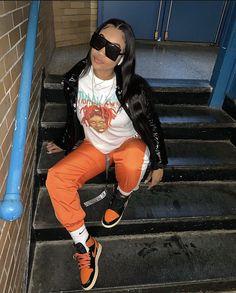 Tomboy Fashion, Dope Fashion, Fashion Pants, Streetwear Fashion, Urban Fashion, Teen Fashion, Fashion Outfits, High Fashion, Chill Outfits