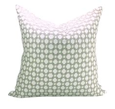 Schumacher Betwixt pillow cover in Stone/White  ON by sparkmodern, $65.00
