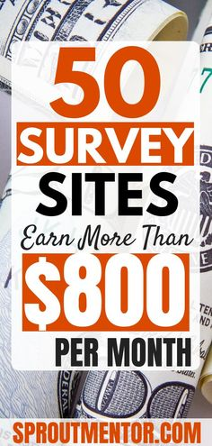 50 Of The Best Paid Survey Sites To Make Money in 2019 Want to make money online taking surveys? Here are 50 legitimate survey sites for 2019 that will help you to make extra cash every month. Make Money Online Surveys, Surveys For Cash, Paid Surveys, Make Money Blogging, Online Income, Money Tips, Online Work From Home, Work From Home Jobs, Make Money From Home