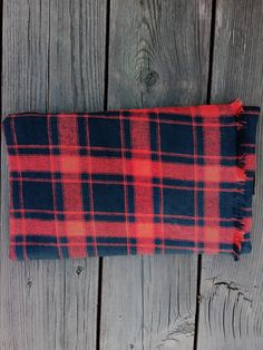 Square Blanket Scarf by ArchedLines on Etsy