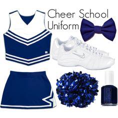 """Cheerleading - School"" by eappah on Polyvore"