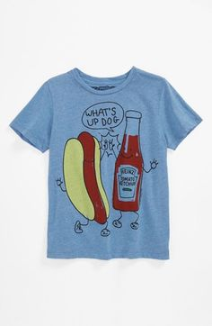 Love this for summer!!! sizes 4-8 Mighty Fine 'Hi-Five' T-Shirt (Little Boys) available at #Nordstrom
