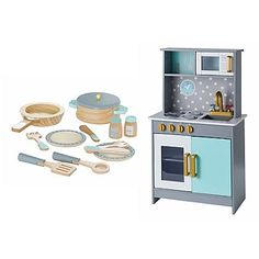 George Home Wooden Deluxe Kitchen and Cooking Set | Toys & Character | George