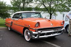 Car Crazy 55 Mercury Montclair Vintage Cars, Antique Cars, Mercury Cars, Smooth Lines, Car Painting, Custom Paint, Old Cars, Lincoln, 1940s
