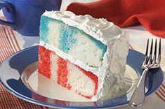 patriotic poke cake.