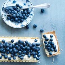 Blueberry and Lemon Mascarpone tarts