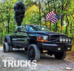Courtesy Lifted Trucks USA, Rollin some Coal!