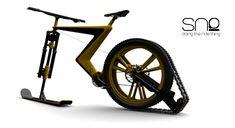 Sno-concept for a a ski bike by Venn ID