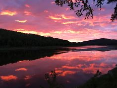 Sun setting over the St John River in Allagash Maine Hunting Outfitters, Northern Maine, Moose Hunting, The St, Wilderness, Camping, River, Sunset, Outdoor