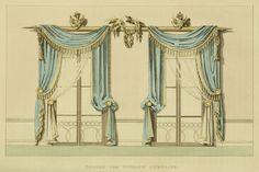 Ackermann's Repository. Curtains.