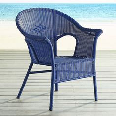 Pier 1 Imports Casbah Stacking Chair (135 CAD) ❤ liked on Polyvore featuring home, outdoors, patio furniture, outdoor chairs, stackable patio chairs, outdoor stacking chairs, outside patio chairs, outdoor patio furniture and stackable outdoor furniture