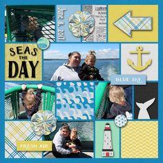 Seas the Day - Scrapbook.com