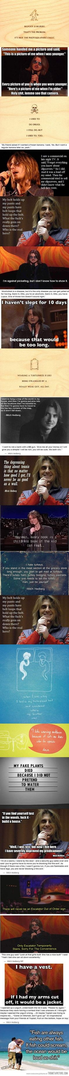 Mitch Hedberg Comedy Quotes