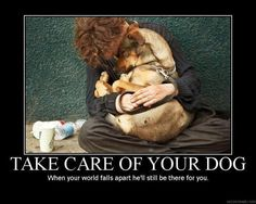 take care of your dog ~