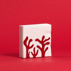 Mediterraneo Napkin Holder Red