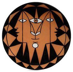 Jean Cocteau - Ceramic plate, c.1959