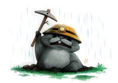 Day 577. Pooh Crossing - Gopher by Cryptid-Creations.deviantart.com on @deviantART