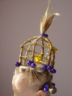 birdcage hair- hahahahahahaha