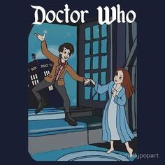 Two of my favorite things finally combining! Doctor Who + Peter Pan = happy me!