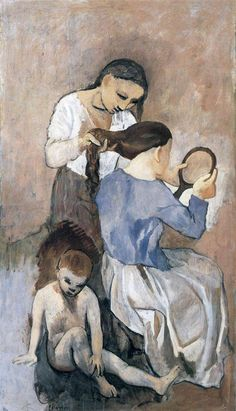 Hairdressing, 1906 Pablo Picasso//