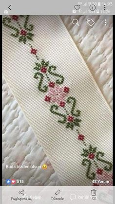Thrilling Designing Your Own Cross Stitch Embroidery Patterns Ideas. Exhilarating Designing Your Own Cross Stitch Embroidery Patterns Ideas. Cross Stitch Bookmarks, Beaded Cross Stitch, Cross Stitch Borders, Cross Stitch Flowers, Cross Stitch Designs, Cross Stitching, Cross Stitch Patterns, Crewel Embroidery, Hand Embroidery Designs