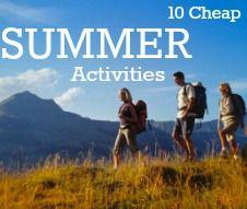 10 Cheap Summer Activities for Families.