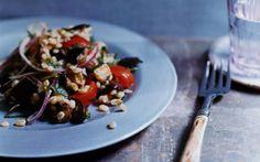 Mediterranean Eggplant and Barley Salad