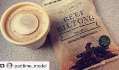 #Repost @parttime_model ・・・ So much love for this Biltong 💚Literally tastes like home 🇿🇦 #southafrica #southafricangirl #biltong #homesick #allaboutthemeat #biltongstmarcus #saffa #biltongpeople