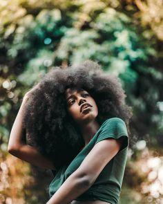 "- Vanessa n  l  r ॐ (@vanessanlr) on Instagram: ""4 years natural"" || AFro hair. kinky curly hair. natural hair. frizzy hair. fluffy hair. poofy hair. perfect as is. Pretty hair. big hair. thick natural hair. black women. black girls. beauty. brown skin."