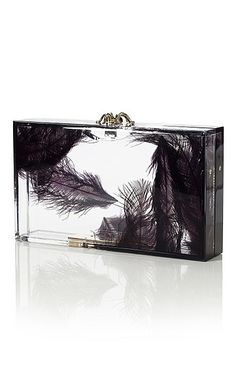Charlotte Olympia Spring 2012  Pandora Feather Clutch