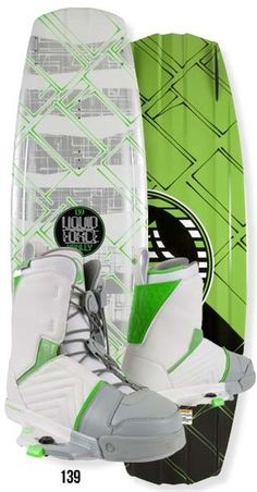 Liquid Force Harley Clifford Wakeboard with Harley Binding Package $599