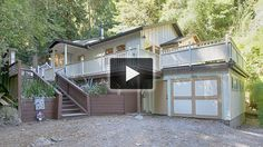 Beautiful hillside home with views of the valley. Charming 2 bedroom, 1 bath home with lovely hardwood floors, dual pane windows, wood burning stove, Spanish arched hallway entrance and much more! Come see it for yourself! Perfect starter home and the best price in Scotts Valley! Approximately 5 minutes to Scotts Valley with all of the amenities that living close to town has to offer- yet you're in paradise. Very peaceful forest and mountain views from the kitchen window to the meditative…