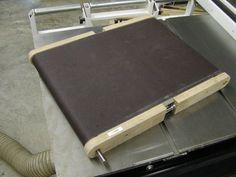 shop built drum sander plans   Ron Walter's drum sander