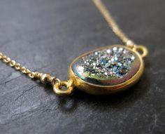 ELODIE druzy necklace by Verse