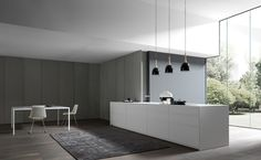 Fitted kitchens | Kitchen systems | Fly | Modulnova | Andrea. Check it out on Architonic