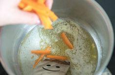 Zeleninová polévka s máslovými noky   Akademie kvality