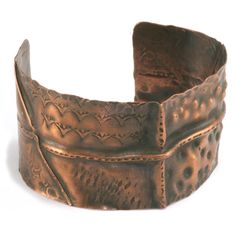 Metal Fold Forming online video class with Kim St. Jean. Learn how to fold, shape and texture metal to create a unique cuff bracelet. Available as an online class or DVD.