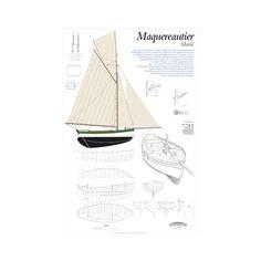 Maquereautier de Saint-Malo, Marie, plan de modélisme